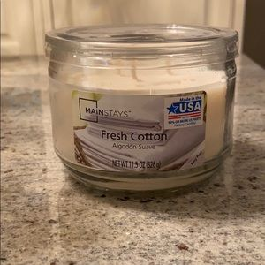 Mainstays Fresh Cotton candle - unopened